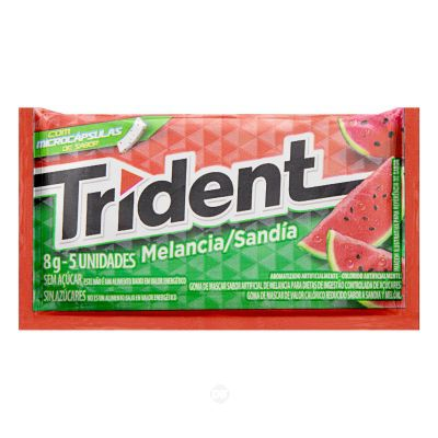 Chicle Trident Avulso Melancia 8,5 Gr