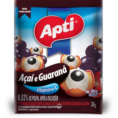 Refresco Apti Acai C.guarana 30 Gr