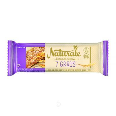 Barra Cereal Naturale 7 Graos 22 Gr