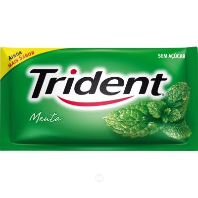 Chicle Trident Avulso Menta 8.5Gr