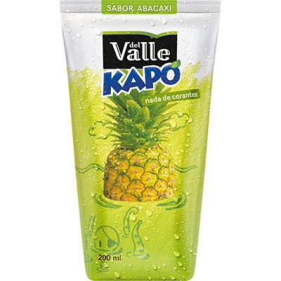 Suco Del Valle Kapo Abacaxi 200 Ml