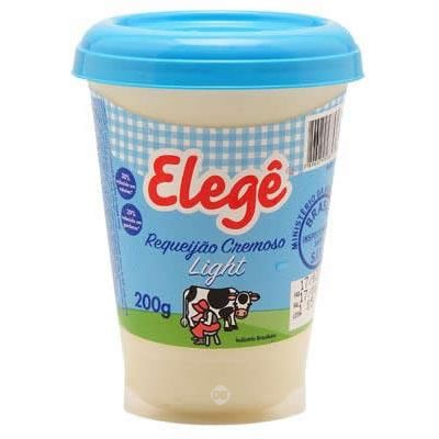 Requeijao Elege Light Cp 200 Gr
